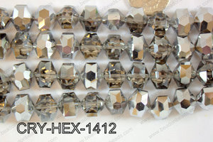 Angelic Crystal Hexagon 14mm CRY-HEX-1412