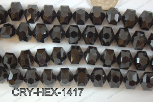 Angelic Crystal Hexagon 14mm CRY-HEX-1417