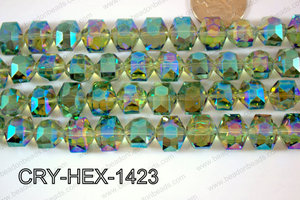 Angelic Crystals Hexagon 12x14mm CRY-HEX-1423