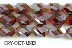 Angelic Crystal Octagon 18x25mm 14'' CRY-OCT-1803