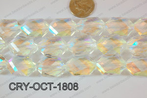 Angelic Crystal Octagon 18x25mm 14'' CRY-OCT-1808