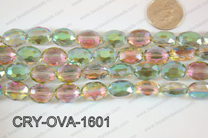 Angelic Crystal Faceted Oval 12x16mm CRY-OVA-1601