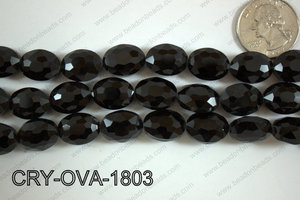 Angelic Crystal Faceted Oval 12x16mm CRY-OVA-1803