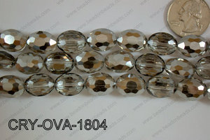 Angelic Crystal Faceted Oval 12x16mm CRY-OVA-1804