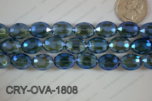 Angelic Crystal Faceted Oval 12x16mm CRY-OVA-1808