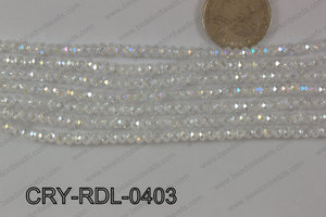 Crystal Rondel 4mm CRY-RDL-0403