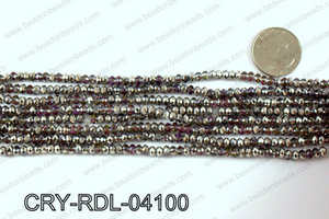 Angelic Crystals Rondels 4mm CRY-RDL-04100