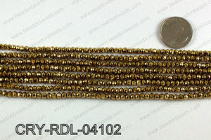 Angelic Crystals Rondels 4mm CRY-RDL-04102