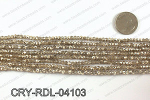 Angelic Crystals Rondels 4mm CRY-RDL-04103