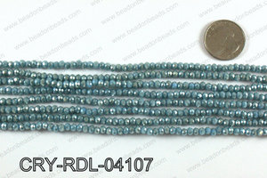 Angelic Crystals Rondels 4mm CRY-RDL-04107