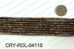 Angelic Crystals Rondels 4mm CRY-RDL-04115