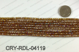 Angelic Crystals Rondels 4mm CRY-RDL-04119