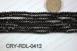 Crystal Rondel 4mm CRY-RDL-0412