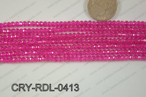 Crystal Rondel 4mm CRY-RDL-0413