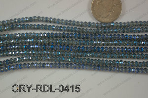 Crystal Rondel 4mm CRY-RDL-0415