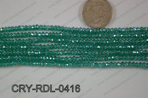 Crystal Rondel 4mm CRY-RDL-0416