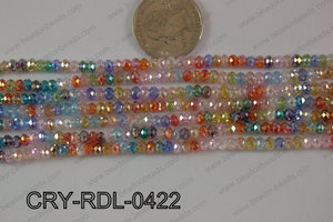 Crystal Rondel 4mm CRY-RDL-0422
