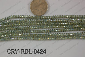 Crystal Rondel 4mm CRY-RDL-0424