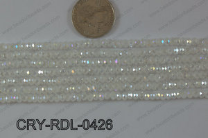 Crystal Rondel 4mm CRY-RDL-0426