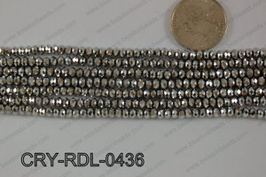 Crystal Rondel 4mm CRY-RDL-0436