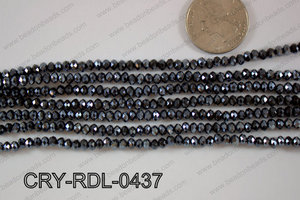 Crystal Rondel 4mm CRY-RDL-0437