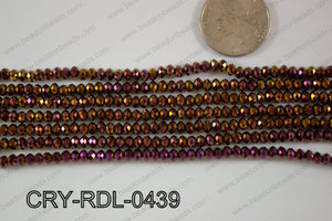 Crystal Rondel 4mm CRY-RDL-0439