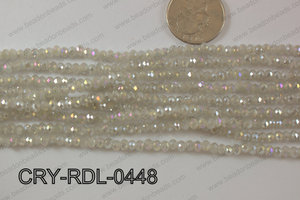 Angelic Crystals Rondels 4mm CRY-RDL-0448