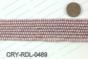 Angelic Crystals Rondels 4mm CRY-RDL-0469
