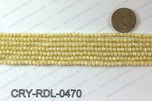 Angelic Crystals Rondels 4mm CRY-RDL-0470