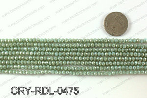 Angelic Crystals Rondels 4mm CRY-RDL-0475