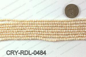 Angelic Crystals Rondels 4mm CRY-RDL-0484