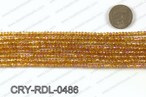 Angelic Crystals Rondels 4mm CRY-RDL-0486