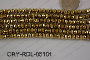 Crystal Rondel 6mm CRY-RDL-06101
