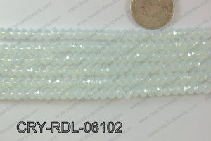 Crystal Rondel 6mm CRY-RDL-06102