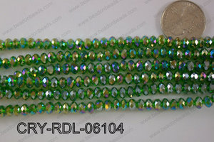 Crystal Rondel 6mm CRY-RDL-06104