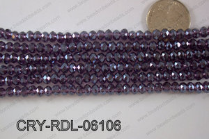 Crystal Rondel 6mm CRY-RDL-06106