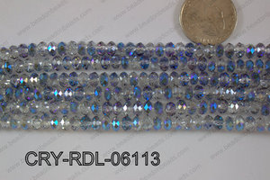 Crystal Rondel 6mm CRY-RDL-06113