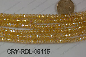 Crystal Rondel 6mm CRY-RDL-06115