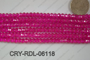Crystal Rondel 6mm CRY-RDL-06118