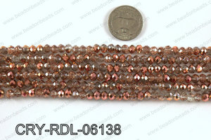 Angelic crystal rondels 6mm CRY-RDL-06138