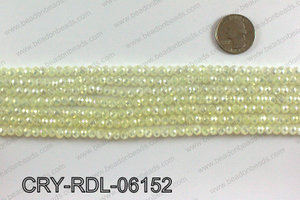 Angelic crystal rondels 6mm CRY-RDL-06152