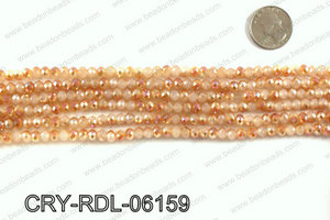 Angelic crystal rondels 6mm CRY-RDL-06159