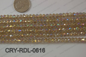Angelic Crystals Rondels 6mm CRY-RDL-0616