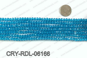Angelic crystal rondels 6mm CRY-RDL-06166