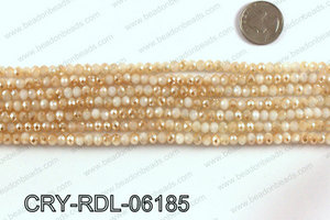 Angelic crystal rondels 6mm CRY-RDL-06185