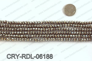 Angelic crystal rondels 6mm CRY-RDL-06188