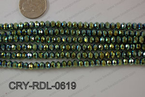 Angelic Crystals Rondels 6mm CRY-RDL-0619