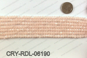 Angelic crystal rondels 6mm CRY-RDL-06190