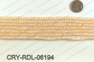 Angelic crystal rondels 6mm CRY-RDL-06194
