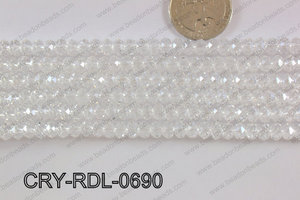 Crystal Rondel 6mm CRY-RDL-0690